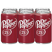 Dr Pepper Soda 7.5 oz Cans