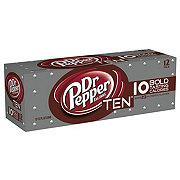 Dr Pepper TEN Soda 12 oz Cans