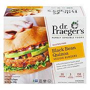 Dr. Praeger's Black Bean Quinoa Burgers