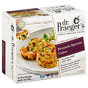 Dr. Praeger's Brussel Sprouts Cakes