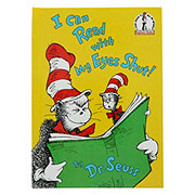 Dr. Seuss I Can Read With My Eyes Shut