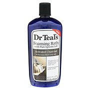 Dr Teal's Activated Charcoal And Hawaiian Black Lava Foaming Bath