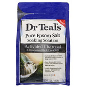 Dr Teal's Charcoal & Hawaiian Black Lava Epsom Salt