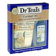 Dr Teal's Epsom Salt Soak & Foaming Bath Coconut Oil