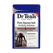 Dr Teal's for Men Pure Epsom Salt Solution Energize & Invigorate