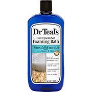 Dr Teal's Pure Epsom Salt Foam Bath Detox & Energize