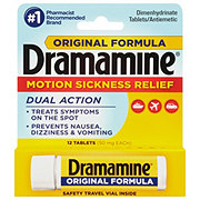Dramamine Original Formula Motion Sickness Relief 50 mg Tablets