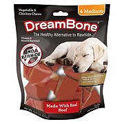 DreamBone Classic Beef Bone Chews, Medium