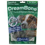 DreamBone Dental Bones Minis Vegetable and Chicken Chews