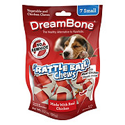 DreamBone Rattleballs Vegetable and Chicken Small