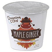 Dreaming Cow Grass-Fed Cream Top Maple Ginger Yogurt