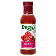 Drew's All Natural Raspberry Dressing and 10 Minute Marinade