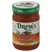 Drews Organic Medium Salsa