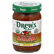 Drews Organic Salsa Quinoa Flax & Chia -Medium