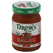 Drews Organic Thick and Chunky Salsa Hot