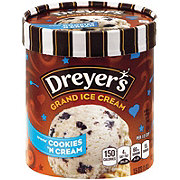 Dreyer's Grand Cookies 'n Cream Ice Cream