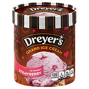 Dreyer's Grand Real Strawberry Ice Cream