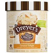 Dreyer's Slow Churned Caramel Delight Light Ice Cream