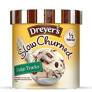 Dreyer's Slow Churned Fudge Tracks Ice Cream