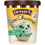 Dreyer's Slow Churned Mint Chocolate Chip Ice Cream