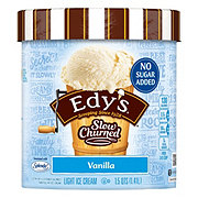 Dreyer's Slow Churned Vanilla No Sugar Added Ice Cream