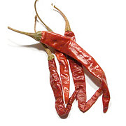 Dried Arbol Peppers