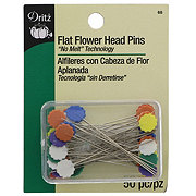 Dritz Flat Flower Head Pins