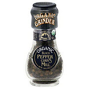 Drogheria & Alimentari Organic Black Peppercorns Mill With Grinder