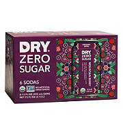 DRY Zero Sugar Mountain Berry Soda 12 oz Cans