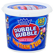 Dubble Bubble Original Flavor Fun Team Tub Bubble Gum