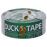 Duck All Purpose Gray Duct Tape 1.88 Inches x 45 Yards