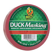 Duck Masking Tape, Red