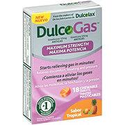 Dulcolax Dulcogas Maximum Strength Sabor Tropical Fruit