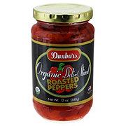 Dunbars Organic Deli Sliced Roasted Red Peppers