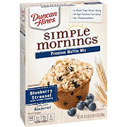 Duncan Hines Blueberry Streusel Premium Muffin Mix