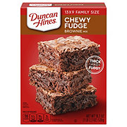 Duncan Hines Chewy Fudge Brownie Mix Family Size