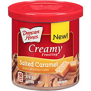 Duncan Hines Creamy Frosting Salted Caramel