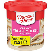 Duncan Hines Creamy Home Style Cream Cheese  Frosting