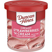 Duncan Hines Creamy Home Style Strawberries 'N Cream  Frosting