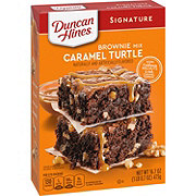 Duncan Hines Decadent Caramel Turtle Brownie Mix