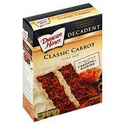Duncan Hines Decadent Classic Carrot Cake Mix