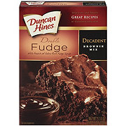 Duncan Hines Decadent Double Fudge Premium Brownie Mix