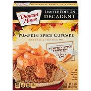 Duncan Hines Decadent Pumpkin Spice Cupcake Mix