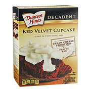 Duncan Hines Decadent Red Velvet Cake and Frosting Mix