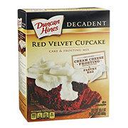 Duncan Hines Decadent Red Velvet Cake & Frosting Mix
