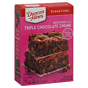 Duncan Hines Decadent Triple Chocolate Brownies