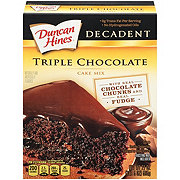 Duncan Hines Decadent Triple Chocolate Cake Mix