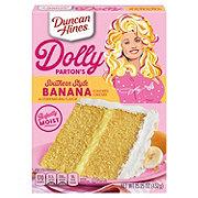 Duncan Hines Moist Deluxe Banana Supreme Premium Cake Mix