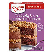 Duncan Hines Moist Deluxe German Chocolate  Cake Mix