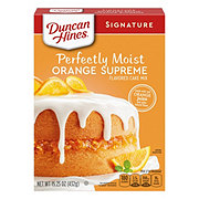 Duncan Hines Moist Orange Supreme Cake Mix